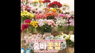 [숨바꽃집] 안산 플라워샵 꽃다발 꽃바구니 원하는 꽃으…