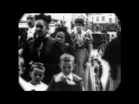 June 17, 1897 - Wedding Party in Paris, France (speed corrected w/ added sound)