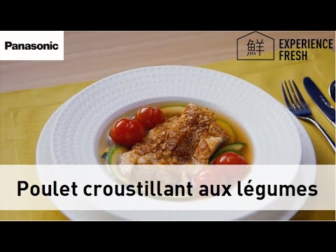 recette-de-poulet-croustillant-aux-légumes-avec-le-four-micro-ondes-nn-cd87-panasonic