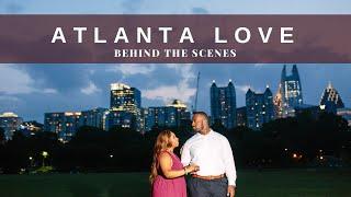 Behind the scenes | Atlanta Engagement Shoot Photography