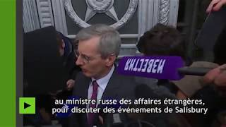 L'ambassadeur de Grande-Bretagne s'exprime sur l'affaire de Skripal