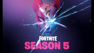 Fortnite Season 5 new map Gameplay + Season 5 Battle Pass Xbox One