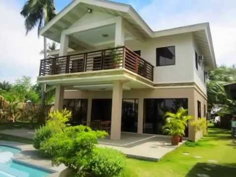For sale beautiful 2 storey beach house lot in sogod for 2 storey house for sale
