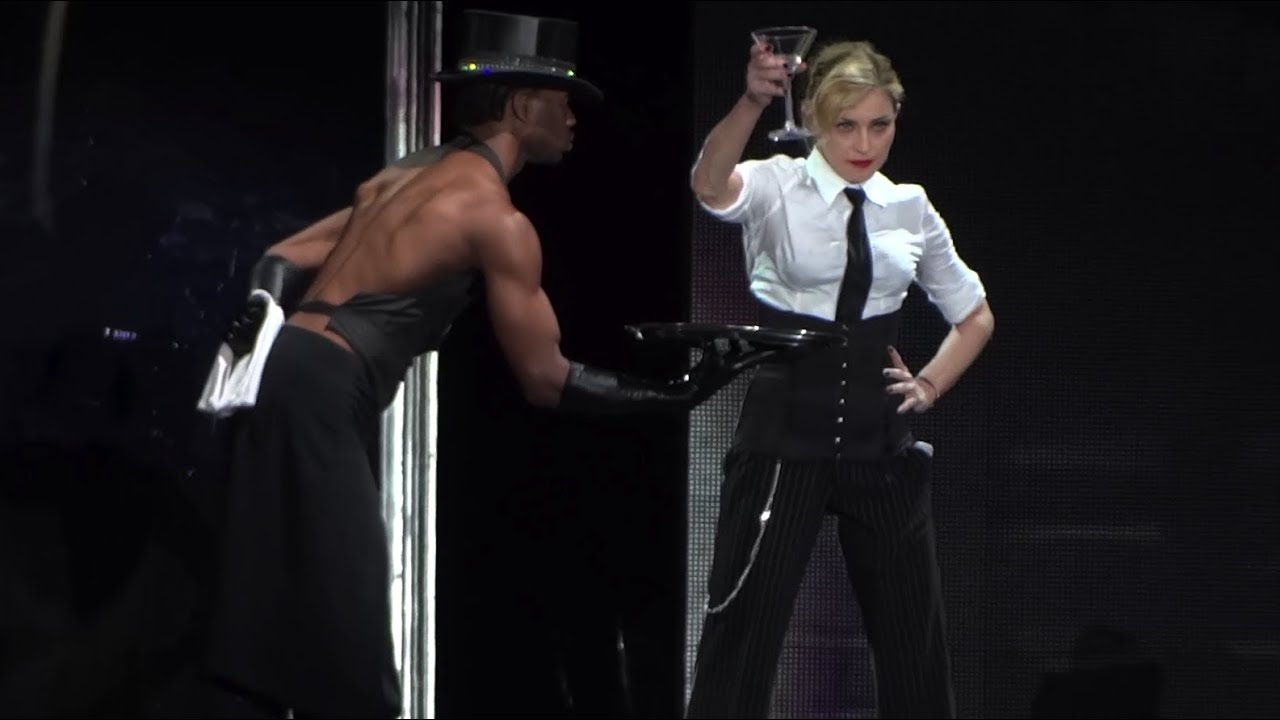 Madonna human nature live in rome - 1 part 10
