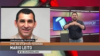 Mario Leito y lo que Atletico Tucuman le paga a la liga en El Show En La Red