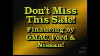 Bob Hembree | Buick Chevy Geo | Television Commercial | 1990 | Huntsville Alabama
