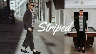 HOW TO STYLE - STRIPED T-SHIRT | 3 OUTFITS