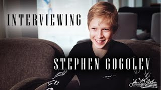 STEPHEN GOGOLEV EXCLUSIVE INTERVIEW by John Wilson Blades