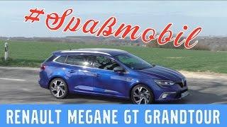 Renault Megane GT Grandtour ENERGY 205 TCe -  Test, Review und Fahrbericht / Testdrive