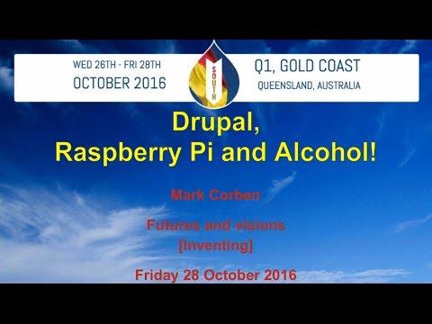 Drupal, Raspberry Pi and Alcohol!