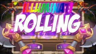 Castle Clash Illuminate Rolling!