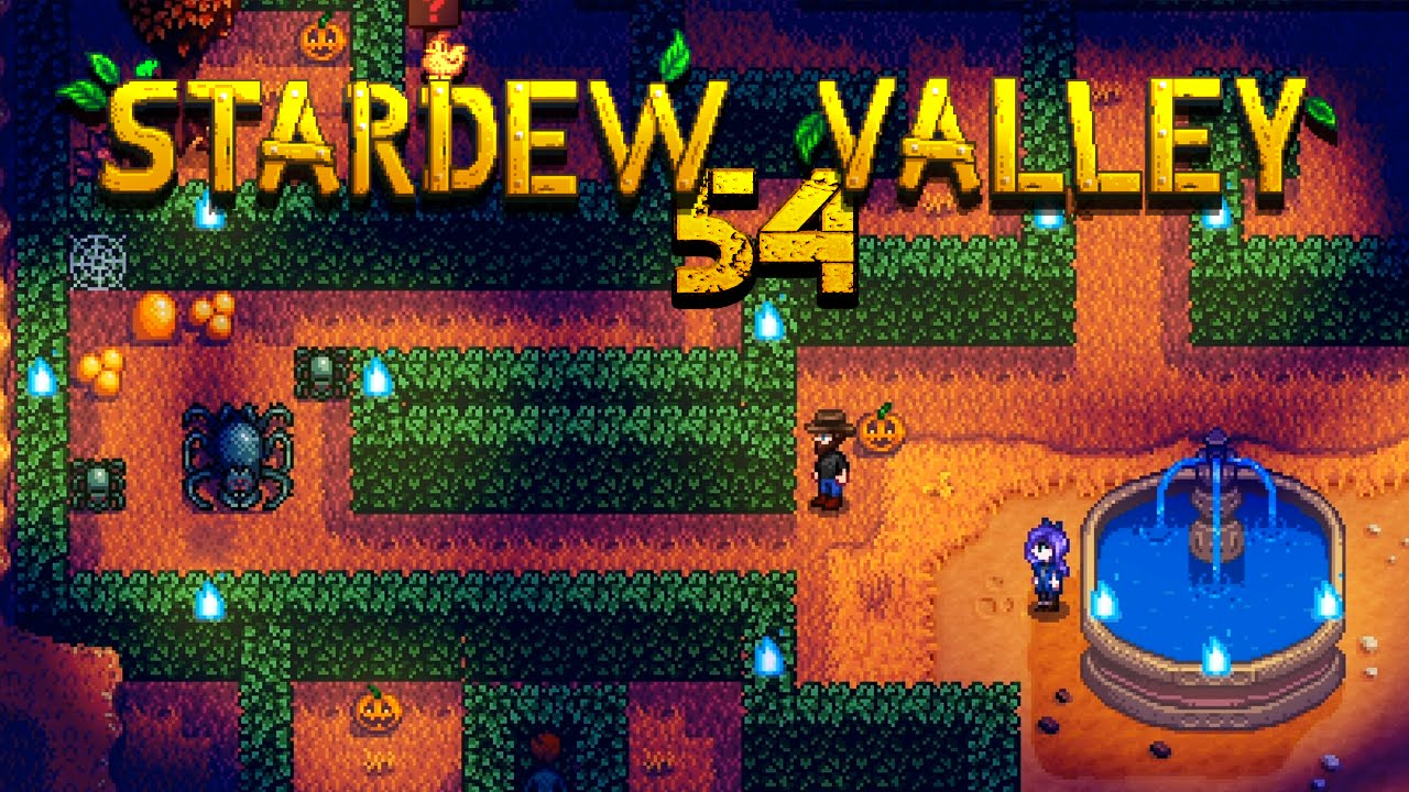STARDEW VALLEY [054] - This is Halloween - YouTube