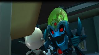 Ratchet & Clank: Up Your Arsenal (PS3-HD) ALL Doctor Nefarious Scenes HD 720p