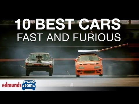 10 Best Fast & Furious Cars