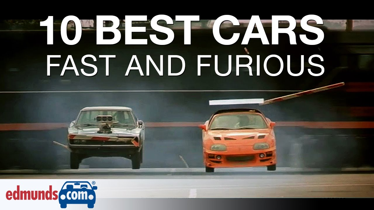 10 Best Fast & Furious Cars - YouTube