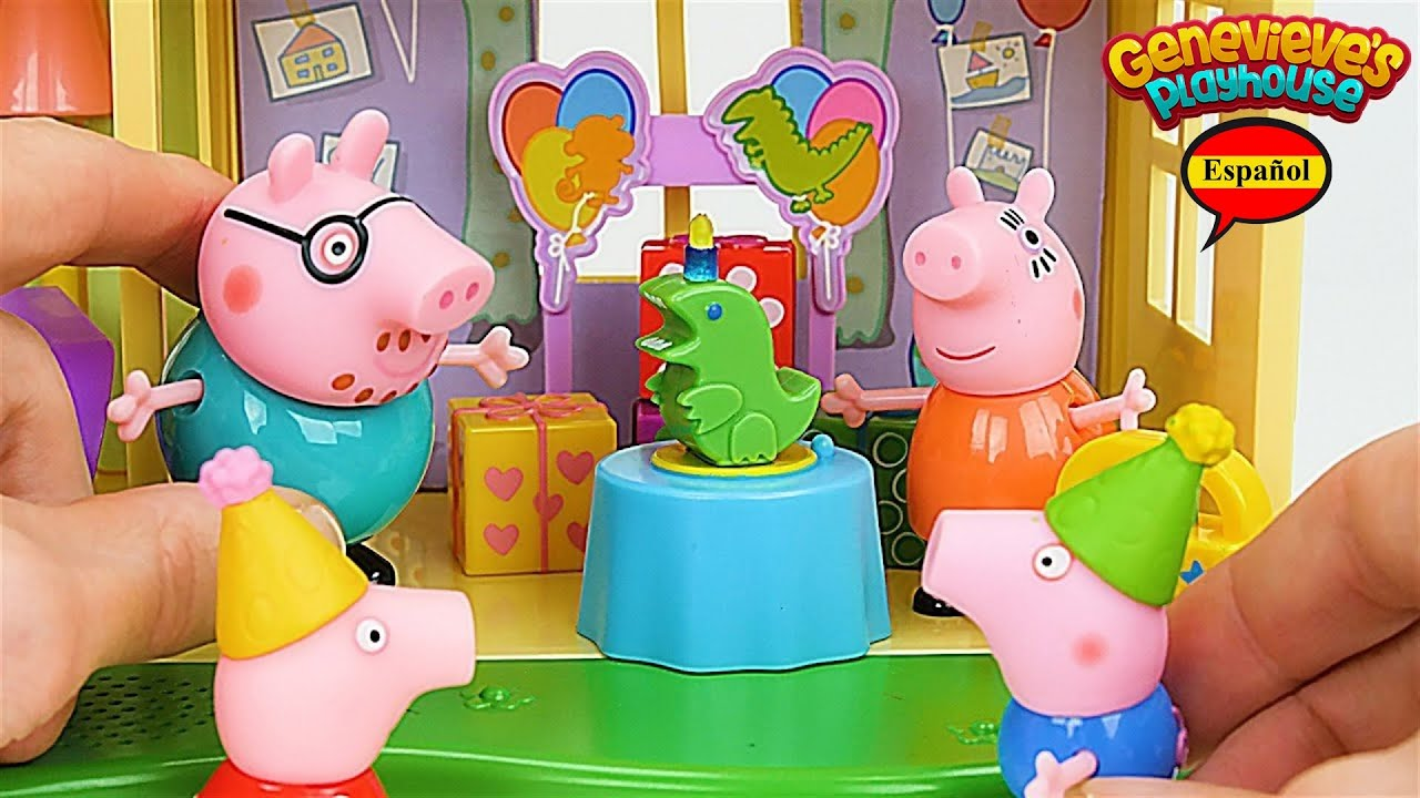 El Juguete Educativo Para Niños De Peppa Pig Cumpleaños De Goerge Pig Youtube