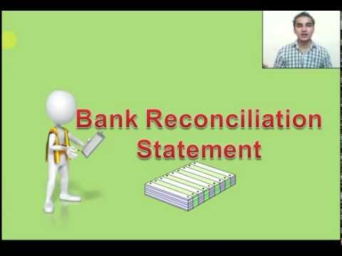How to Prepare Bank Reconciliation Statement  Hindi Part 1
