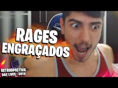 RAGES ENGRAÇADOS | RETROSPECTIVA DAS LIVES 2018