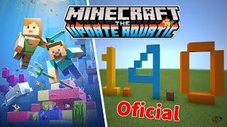 ⭐️Tudo que Chegou no Minecraft 1.4.4 Oficial🐬(Update Aquatic) Parte 1