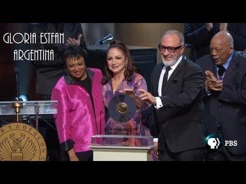 Emilio & Gloria Estefan receiving the Gershwin Prize | Highlights Mp3
