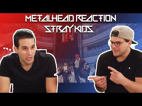 METALHEAD REACTION TO KPOP - Stray Kids - 'Back Door'