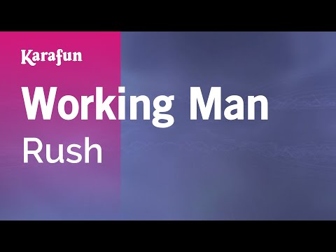 Karaoke Working Man - Rush *