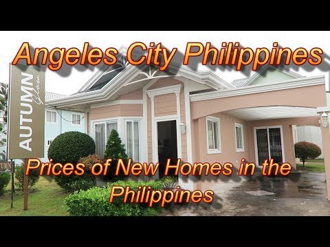 Angeles City Philippines : Prices of New Homes In The Philippines/Timog Residence