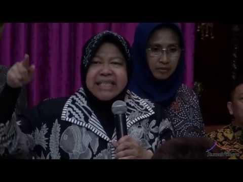 Part 1 l Ibu Tidak Bisa Bangun Surabaya Kalau Tidak Kerja Keras, Ini Ungkap Bu Risma.