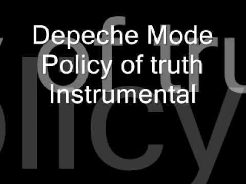 Depeche Mode Policy of truth original instrumental