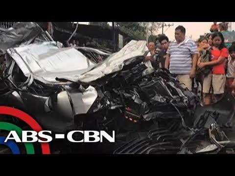 TV Patrol: Matuling truck, inararo ang 5 sasakyan sa QC; 5 patay