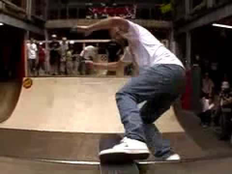 Santa Cruz Skateboard Demo