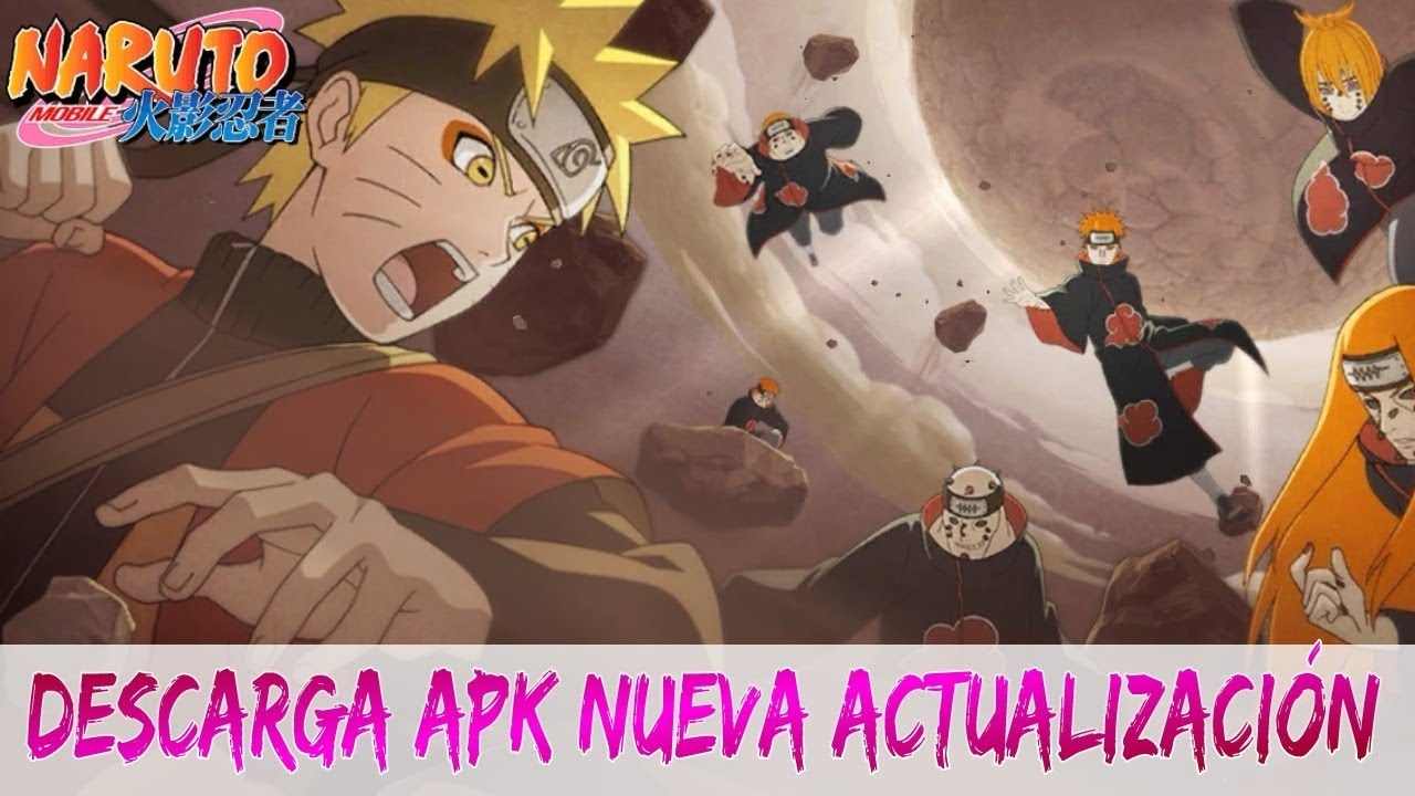 Naruto mobile (Android/iOS) game 2018 descarga APK nueva actualización