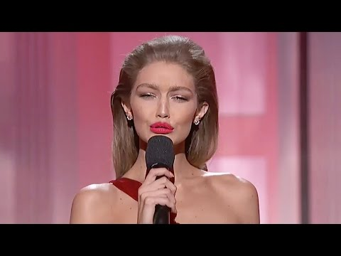 Gigi Hadid's Melania Trump Impression: Cringe Worthy Moments From 2016 AMAs