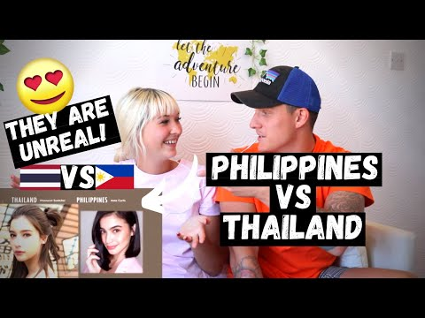 FACE OFF: PHILIPPINES VS THAILAND | Who Is MORE BEAUTIFUL? (FOREIGNERS JUDGE)