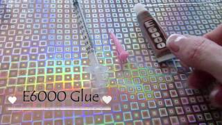 How To put E6000 Glue into a 1ml Syringe to make a Glue Dispenser for DIY Craft Projects