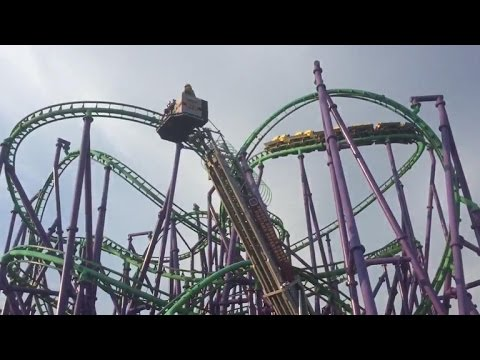 Maryland Six Flags roller coaster rescue