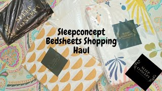 Sleep Concept Bedsheets Shopping Haul ~ Unboxing, Quality, Price & After Wash Stuff Quality