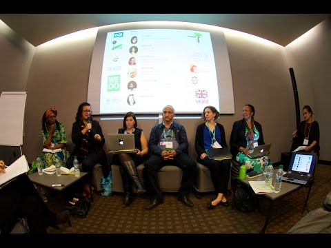 Climate goals and gender realities, GLF 2016 Marrakesh