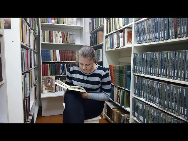 Изображение предпросмотра прочтения – МаринаИванникова читает произведение «Утихла биза...» Ф.И.Тютчева