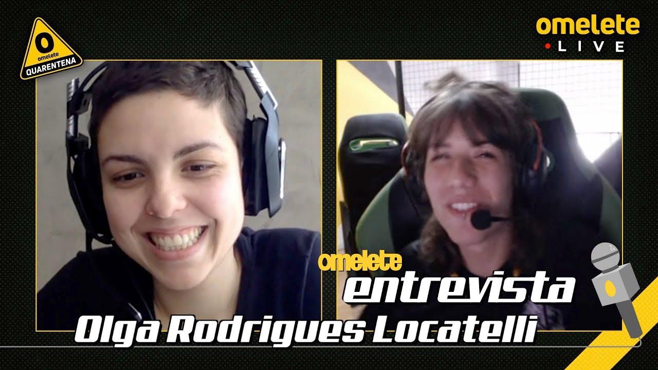 Olga Rodrigues Locatelli | Omelete Entrevista