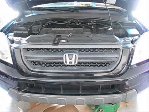 How to change transmission fluid on 2005 Honda Pilot  YouTube