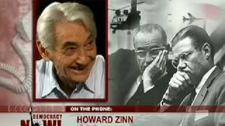 Howard Zinn on Robert McNamara and on Entering the House of Empire (part 2)