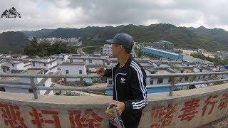 Liều mạng vượt biên sang Trung Quốc Tập 7 | Trấn Đền Bồng Trung Quốc có gì