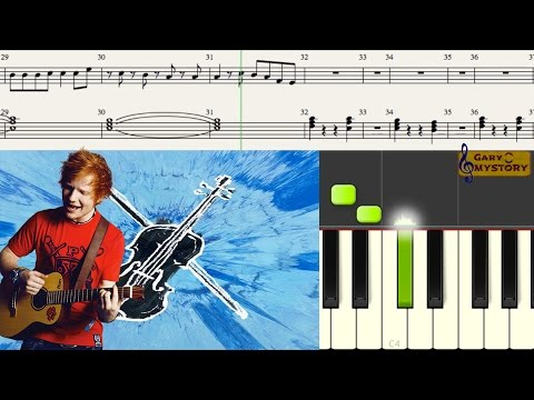 ed-sheeran---galway-girl-divide-easy-piano-tutorial/lesson-free-sheet-music-new-song-cover-2017
