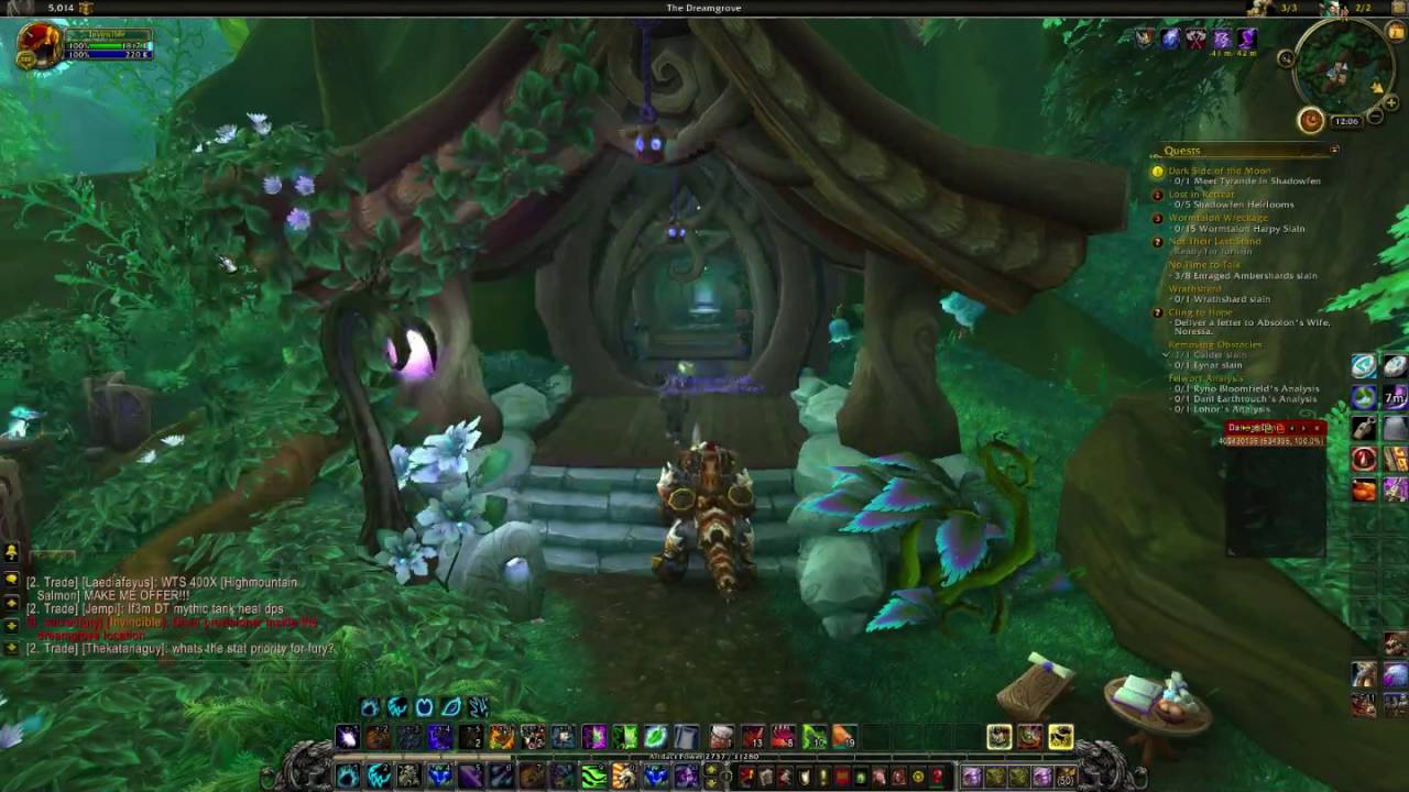 WoW Legion - Dreamgrove druid order hall vendor (druid ...