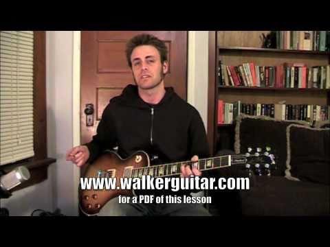 Rudie Can't Fail - The Clash (guitar lesson with TAB)