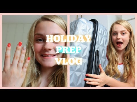 HOLIDAY PREP WITH ME | Nails, Hair & Shein Haul