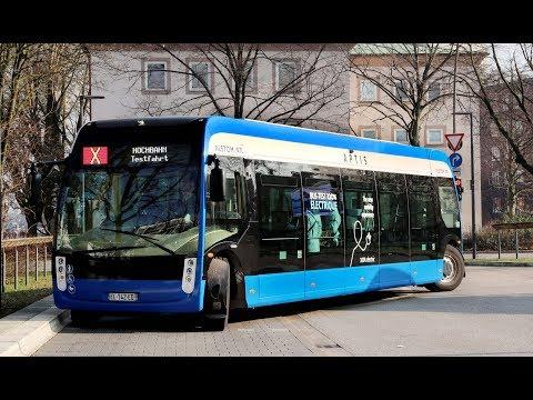 Deutschlandpremiere: Umweltschonende Bus-Revolution in Hamburg