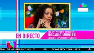 Comunicación con la Vicepresidenta Compañera Rosario Murillo, 21 de enero de 2019