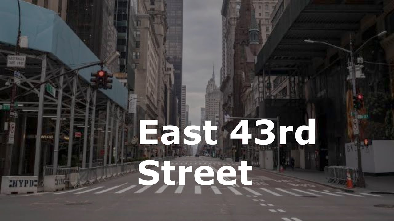 Download East 43rd Street by Alan Battersby | Audiobook with Text